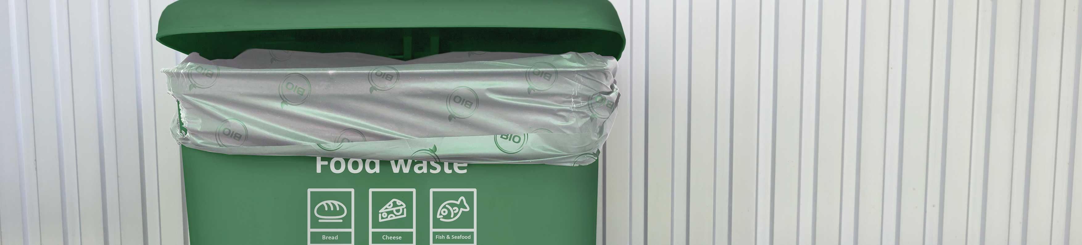Bolsas basura orgánica biodegradables