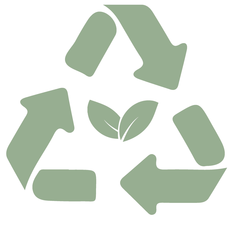 Icono reciclado orgánico