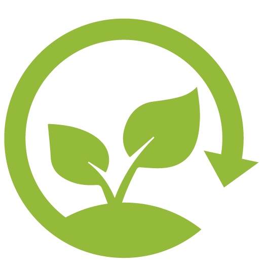 Bioplásticos Preguntas frecuentes FAQS Icono