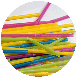 Compostable straws NUREL INZEA Biopolymers