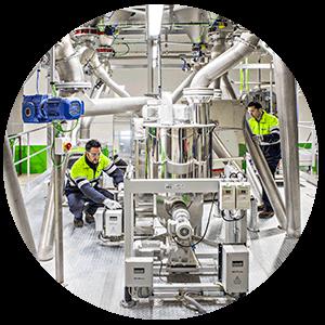 NUREL Biopolymers INZEA Biopolymers Company Facilities Europe