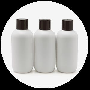 Botella sostenible INZEA biopolímeros, biodegradables biobasados y compostables por extrusión soplado