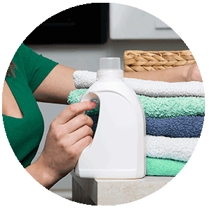 Detergent Container biobased and compostable with NUREL INZEA Biopolymers