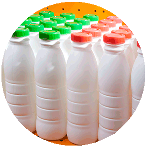 Compostable Bottles Injection Blow Moulding NUREL INZEA Bioplastics
