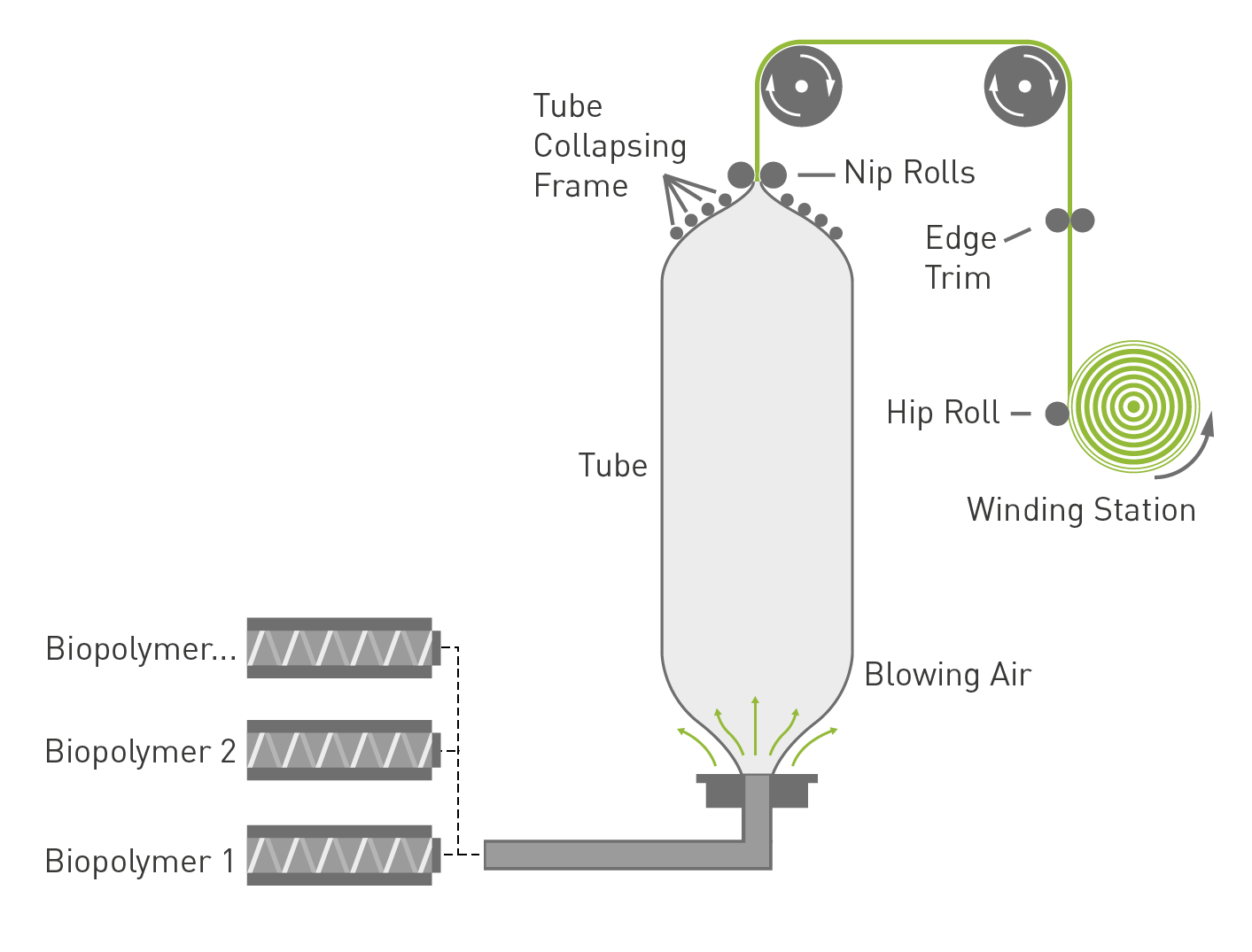 Blow Film Extrusion Process